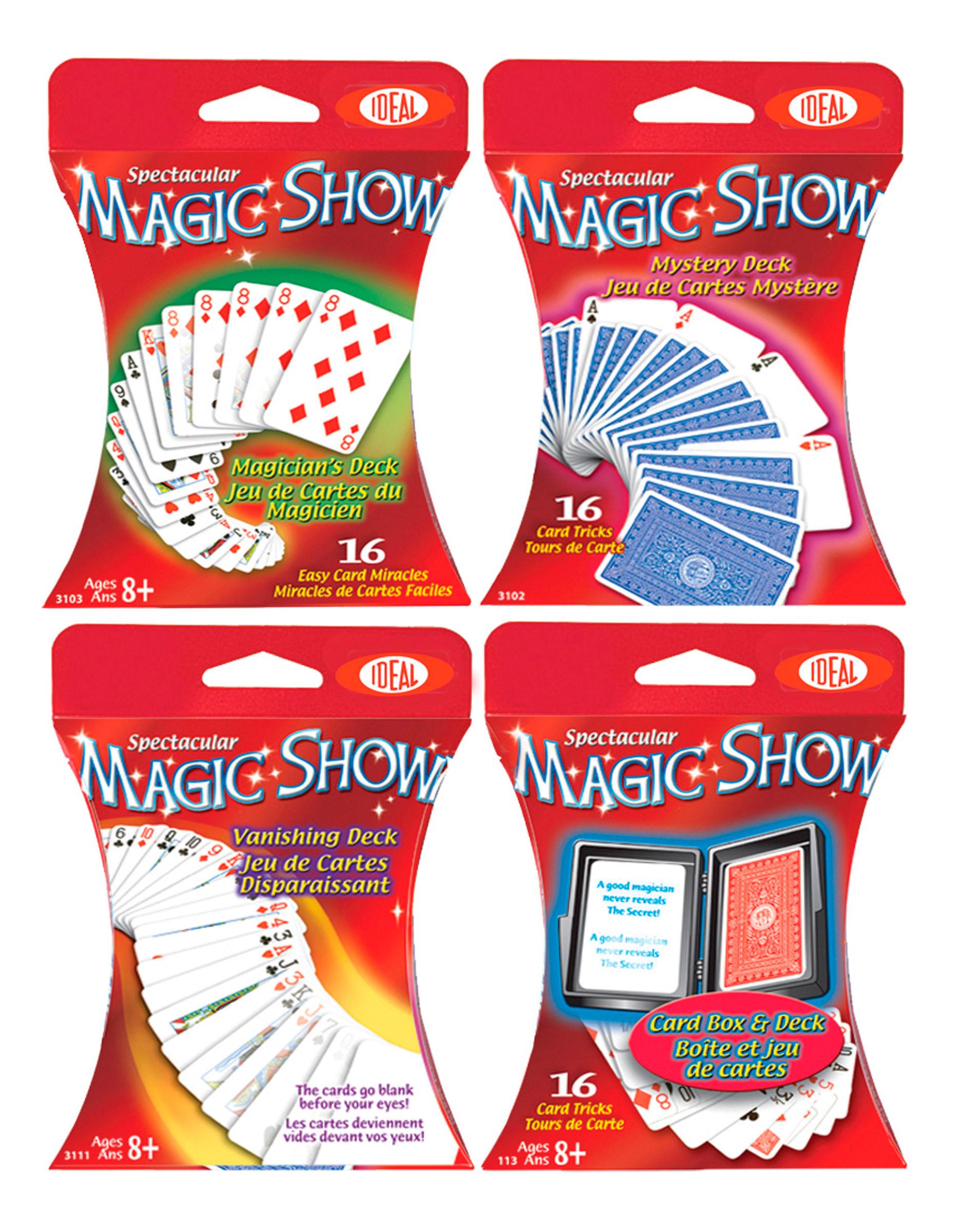 Ideal - Cartes magiques assorties