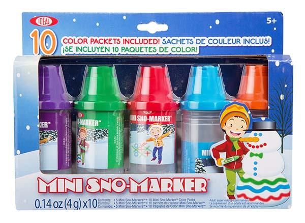 Ideal - Sno Paint - Mini Sno-Marker 5 pièces