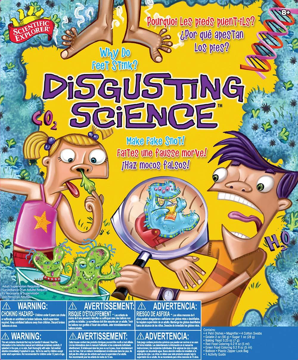 Scientific Explorer - Science dégoûtante Version bilingue