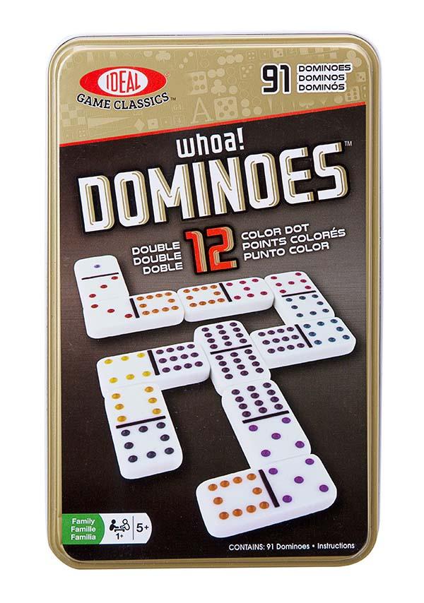 Jeu Double 12 Dominos