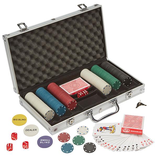 Mallette de Poker 311 Jetons
