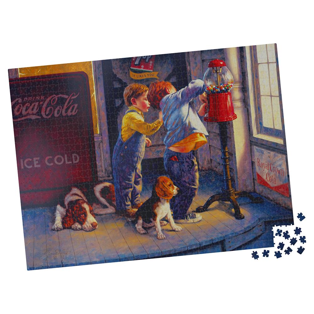 Casse-tête 1000 pièces - Milton Bradley: A Penny a Piece