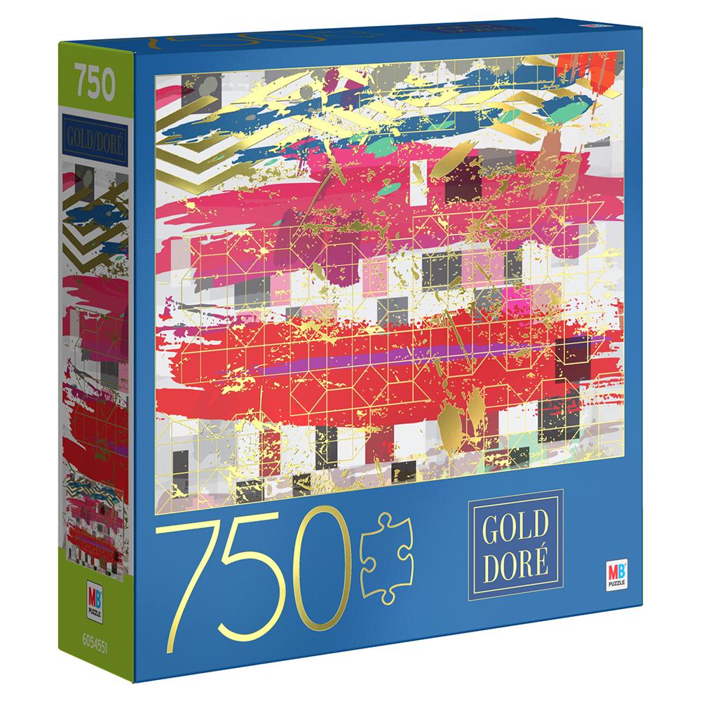 Casse-tête 750 pièces - MB puzzle Geo Grid