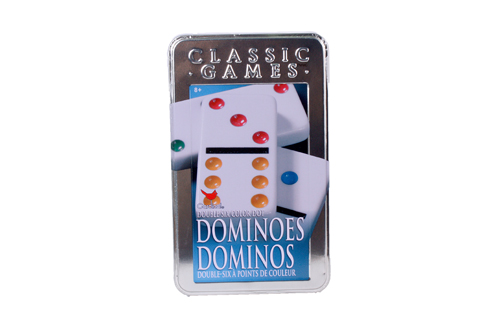 Jeu Dominos de couleurs Double 6
