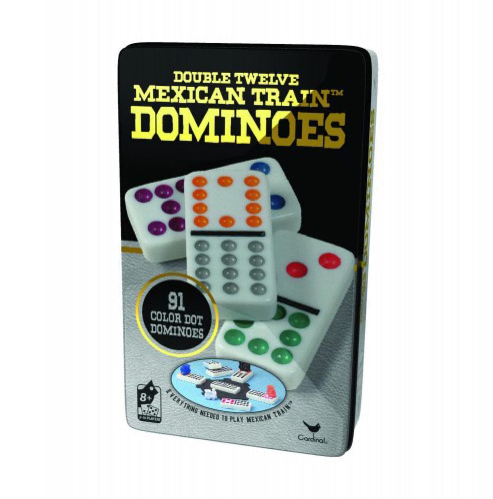 Jeu de Dominos de couleurs Double 12