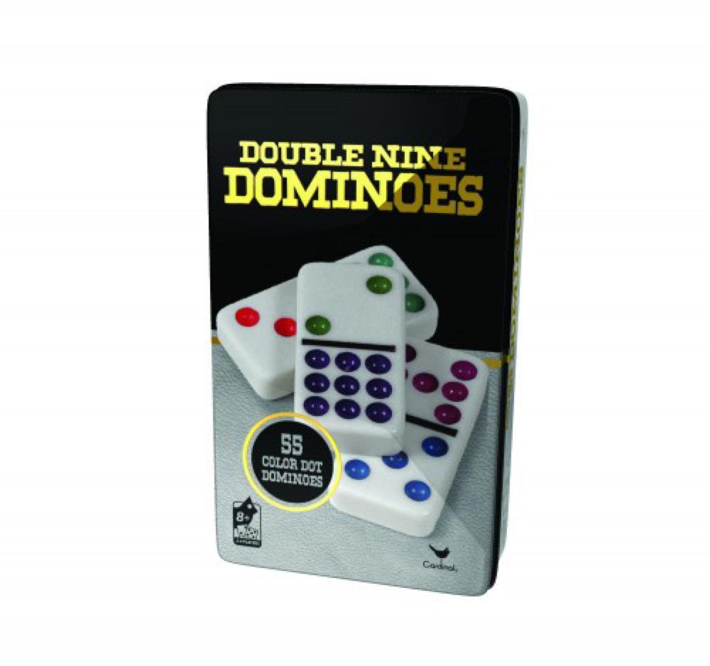 Jeu Dominos de couleur Double 9