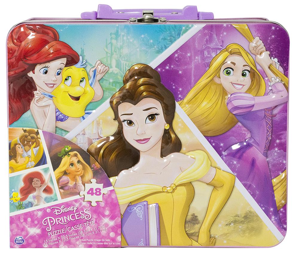 Princesse Disney casse-tête en mallette 48 pièces