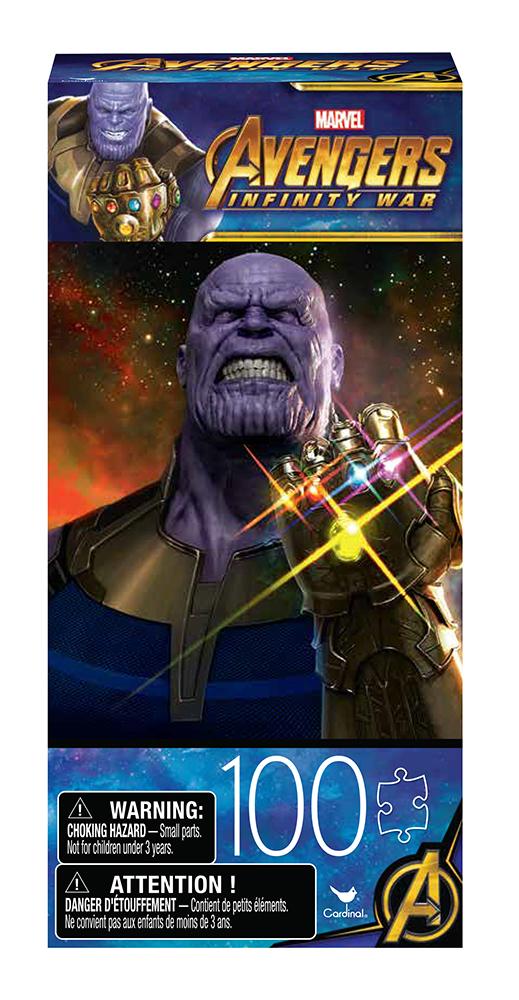 Casse-tête 100 pièces - Avengers