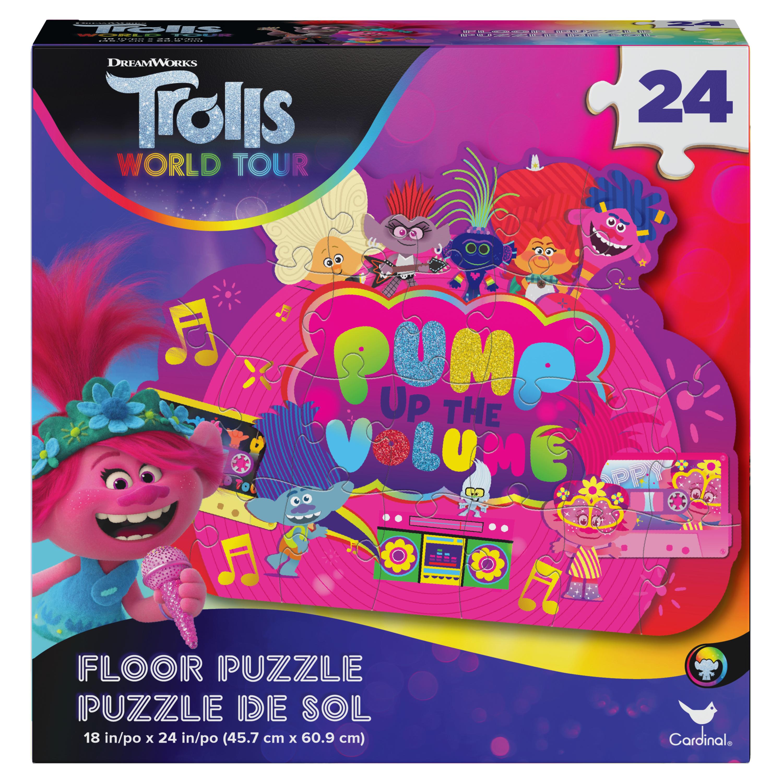 Casse-tête de plancher 24 pièces - Trolls