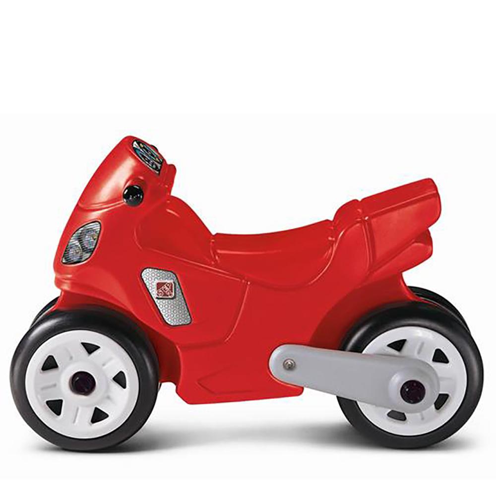 Step 2 - Moto rouge