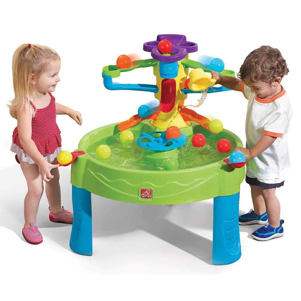 Step 2 table de jeu d 39 eau avec balles club jouet achat for Piscine a balle jouet club