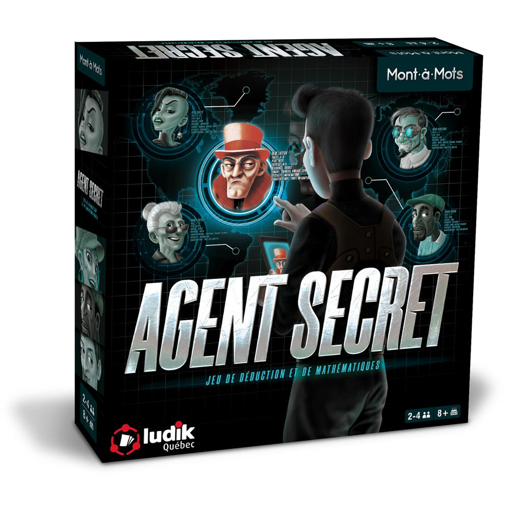 Jeu Mont a Mots  Agent Secret