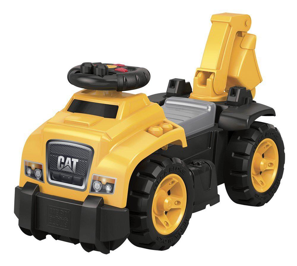 Mega Bloks - CAT Trotteur Excavateur 3-en-1