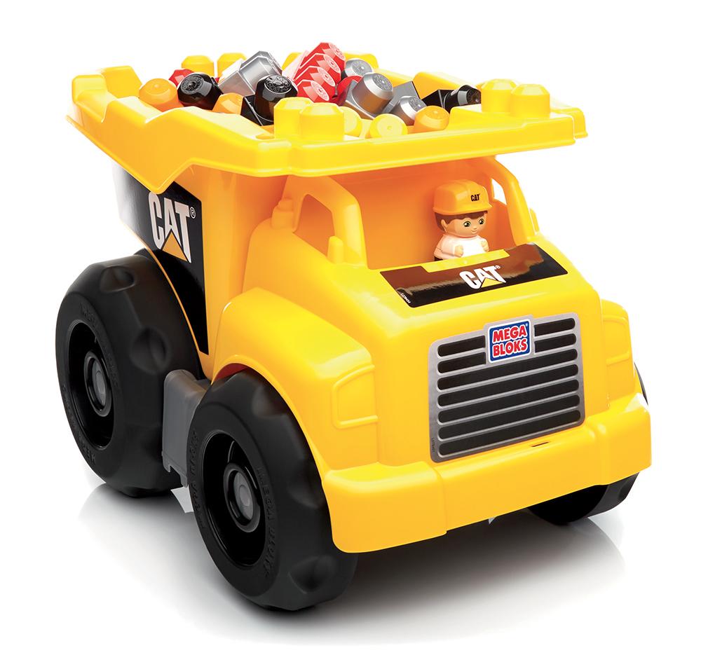 Mega Bloks - CAT Camion à benne 25 pièces