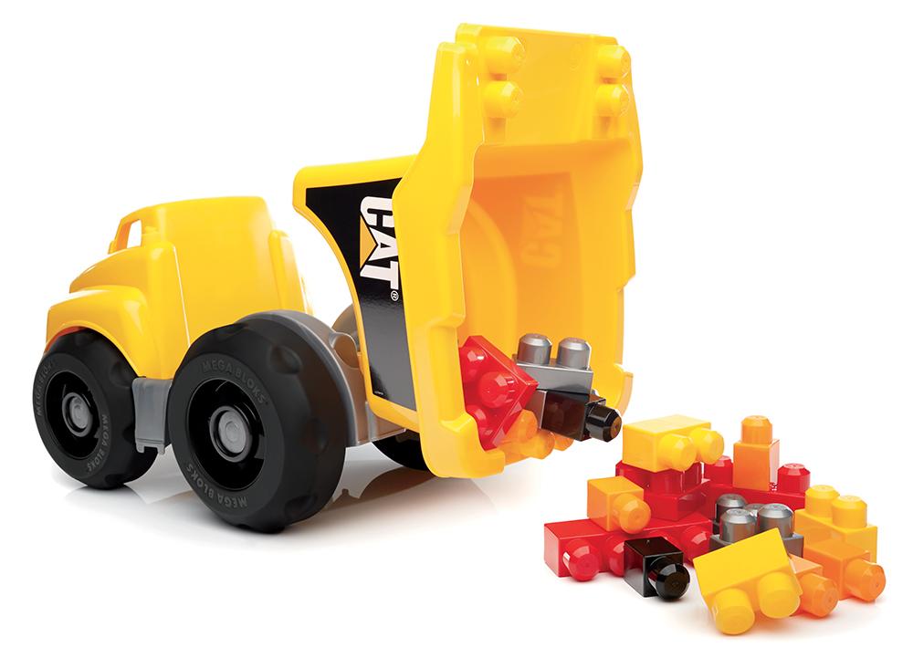 Mega Bloks - CAT Camion-benne 25 pièces