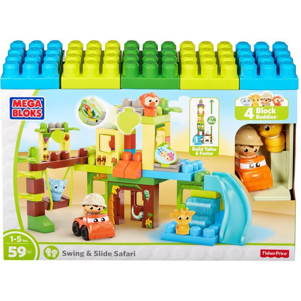 balan oire et glissade de la jungle 59 pi ces club jouet achat de jeux et jouets prix club. Black Bedroom Furniture Sets. Home Design Ideas