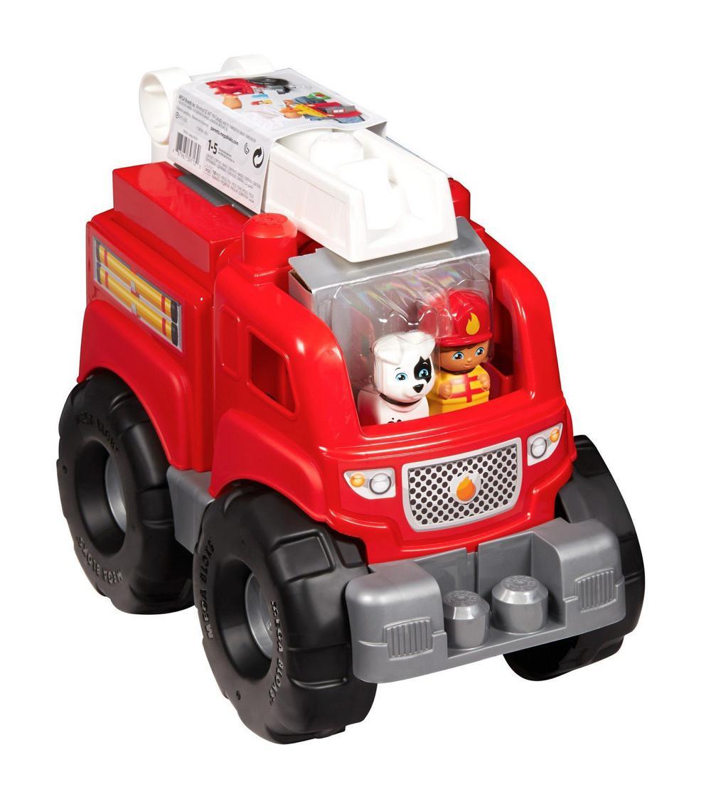 First Builders - Camion de pompier 10 pièces