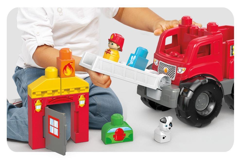 Camion de pompier 10 pièces