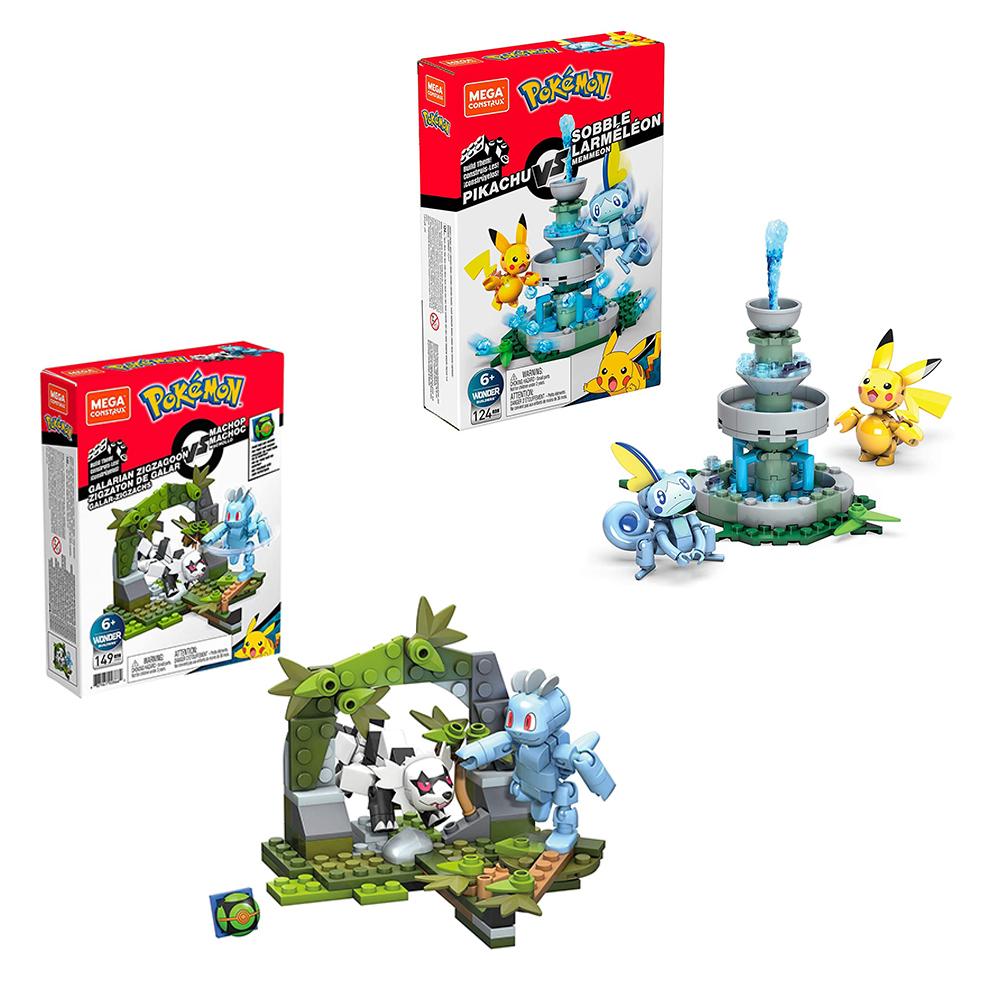 Mega Construx - Pokémon Battle assortis