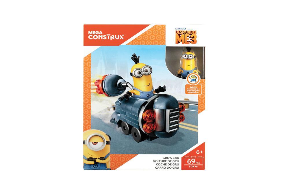 Mega Construx - Détestable moi 3 Mini Véhicules 2 modèles assortis