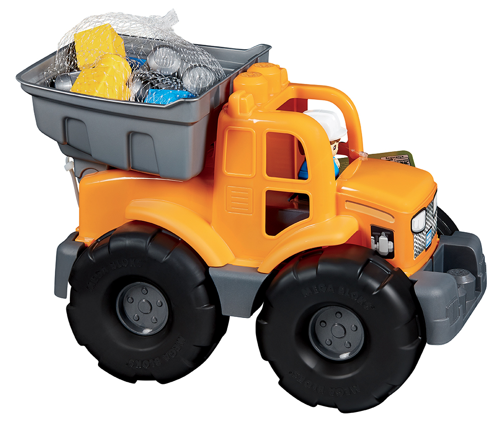 First Builders Camion benne transformable orange