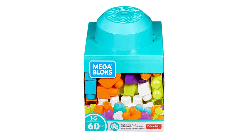 Mega bloks Building Basics Gros blocs de constructions 60 pièces