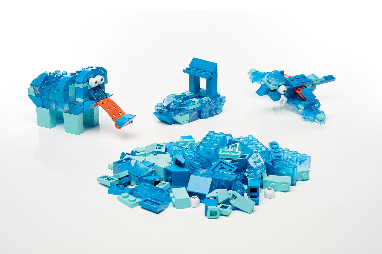 Mega Construx Inventions Coffret de construction Blocs bleus