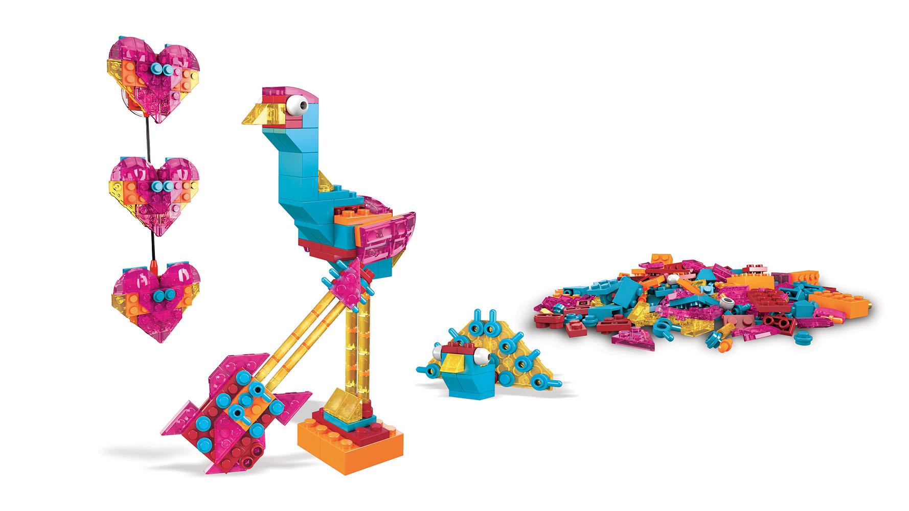 Mega Construx Inventions Coffret de construction Blocs aux couleurs bonbon