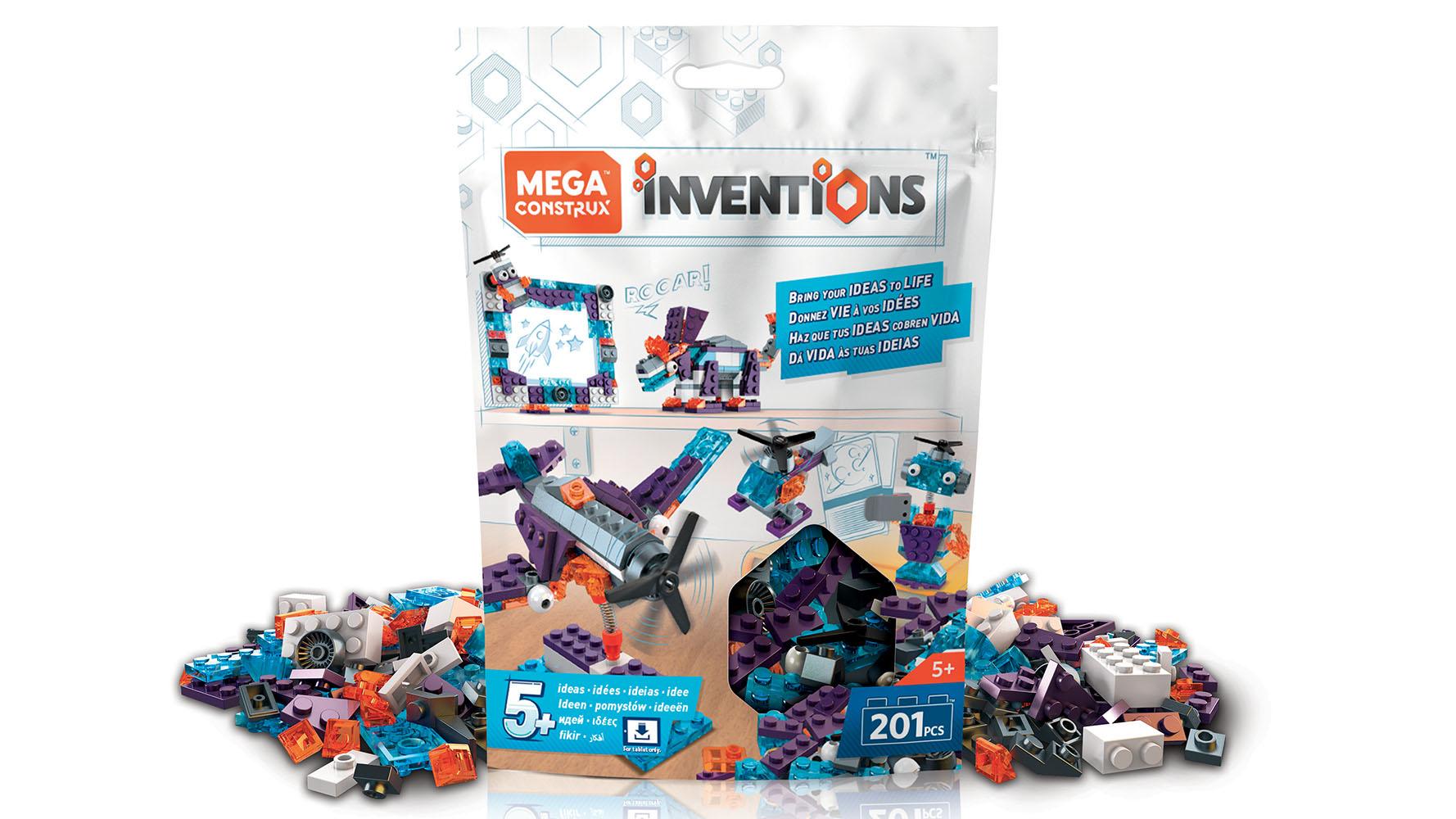 Mega Construx Inventions Coffret de construction Blocs aux couleurs de l'espace