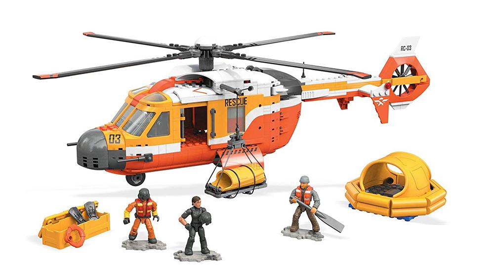 Mega Construx™ Probuilder Hélicoptère de secours 746 pièces