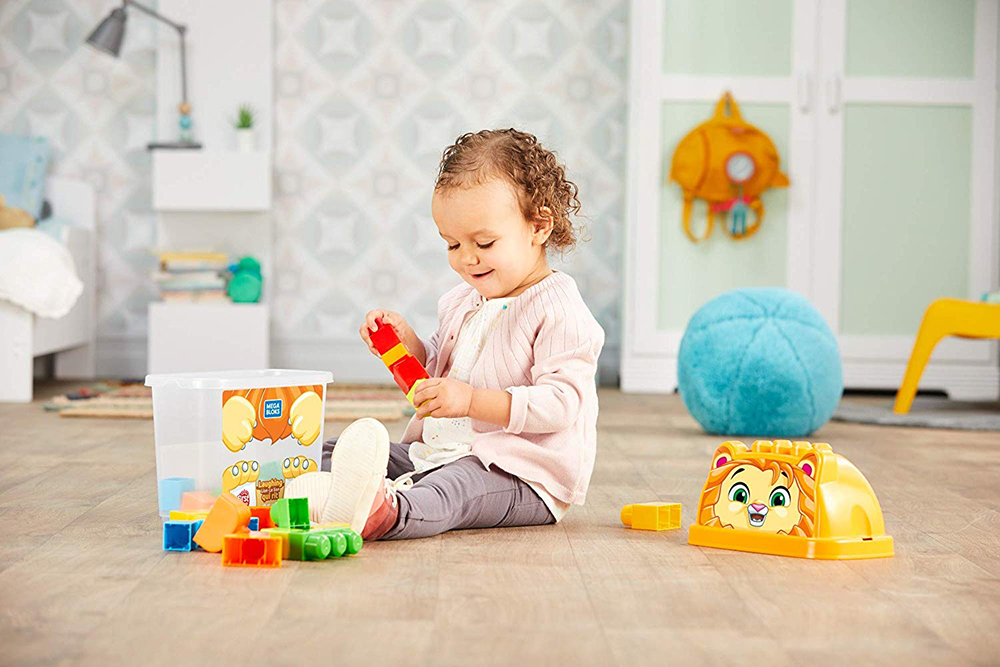 First Builders - Seau animaux assortiment