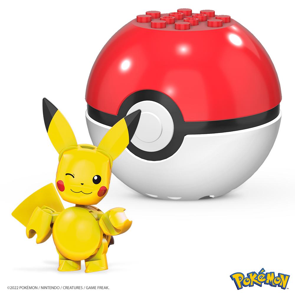 Mega Construx - Pokeball avec Pokémon assorties