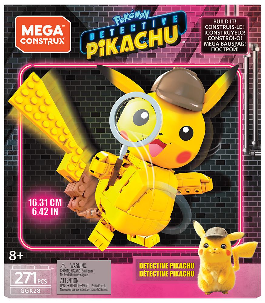 Mega Construx - Détective Pikachu Personnage