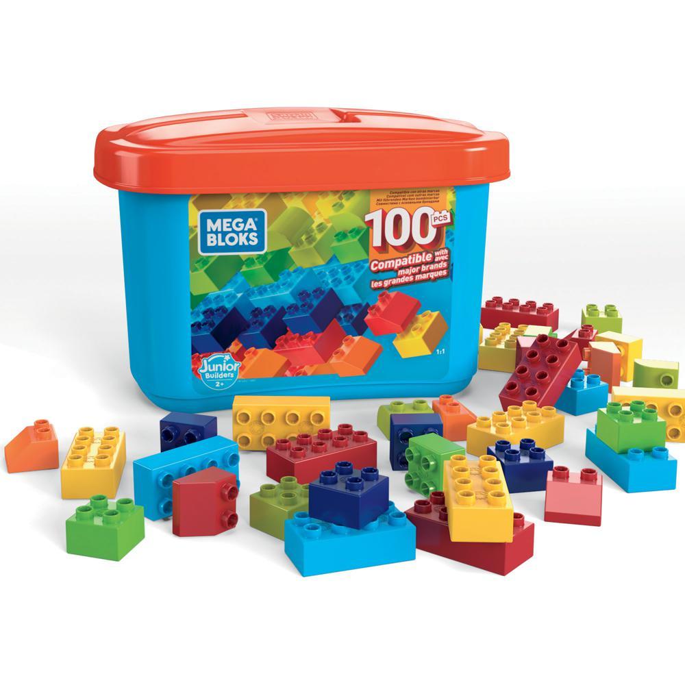 Mega Bloks Constructeur Junior boite en vrac 100 pièces