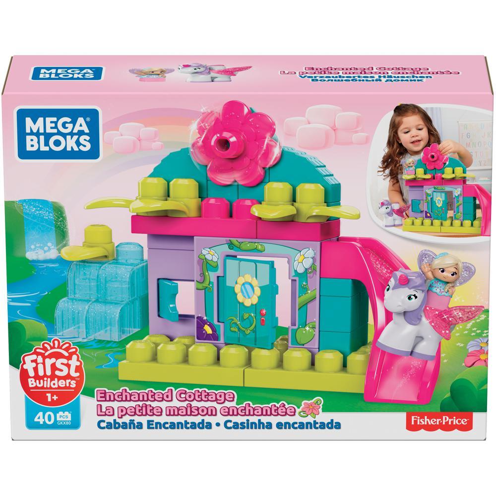 First Builders - Lil'Fairies La petite maison enchantée 40 pièces