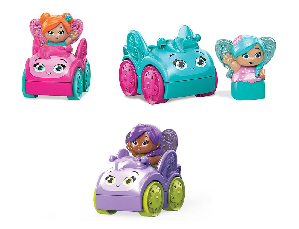First Builders - Lil' Fairies Petit véhicule assortis