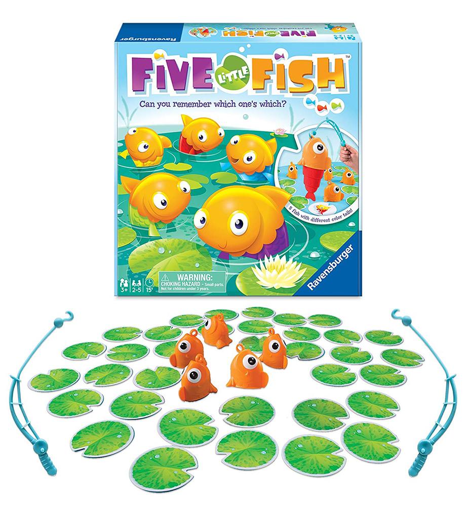 Jeu Five Little Fish