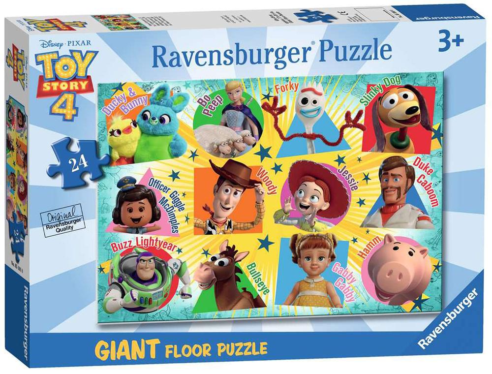 Casse-tête géant de plancher 24 pièces - Histoire de jouets 4