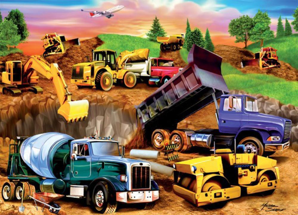 Casse-tête 60 pièces - Le chantier