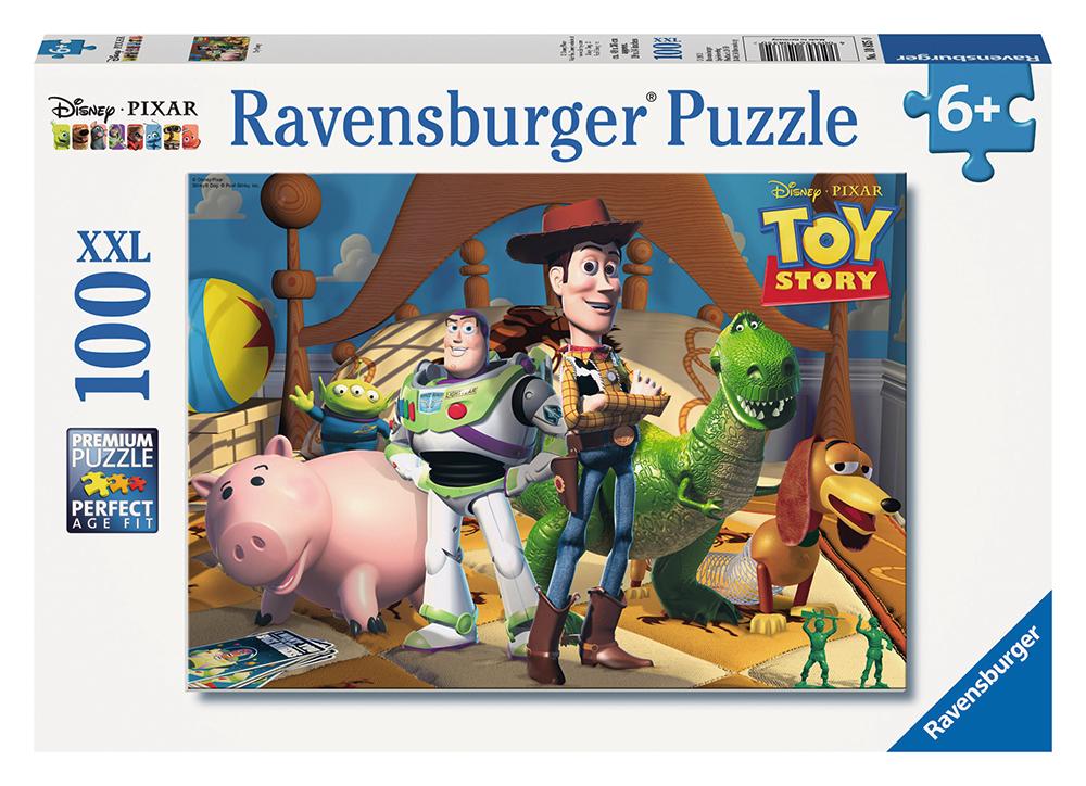 Casse-tête 100 pièces XXL -  Histoire de jouets