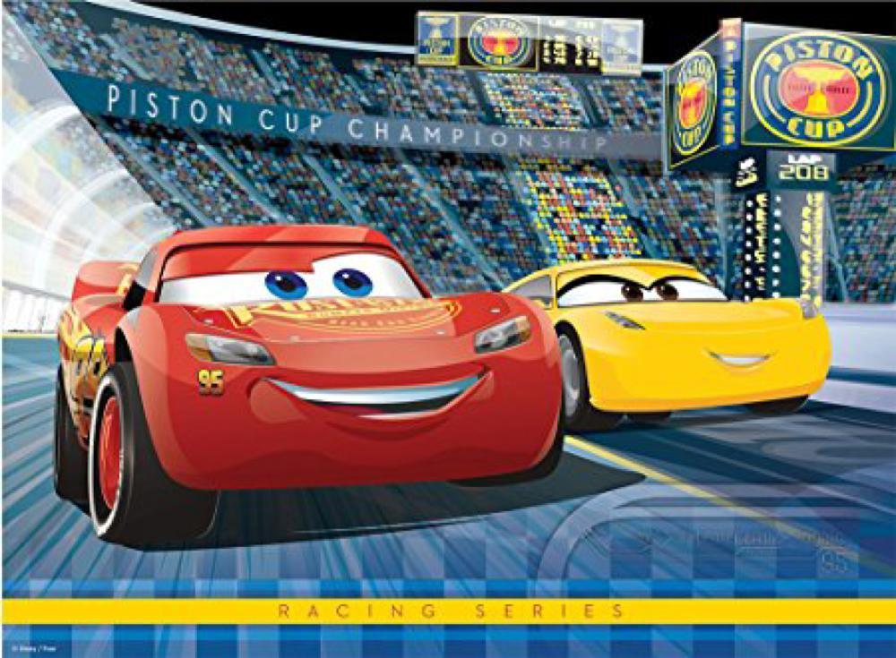 Casse-tête 100 pièces XXL - Cars 3