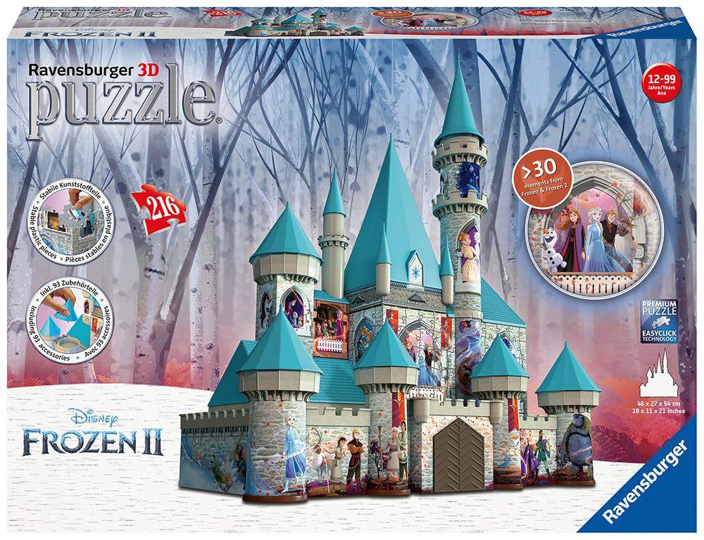 Casse-tête 3D 216 pièces - La Reine des neiges 2 Château