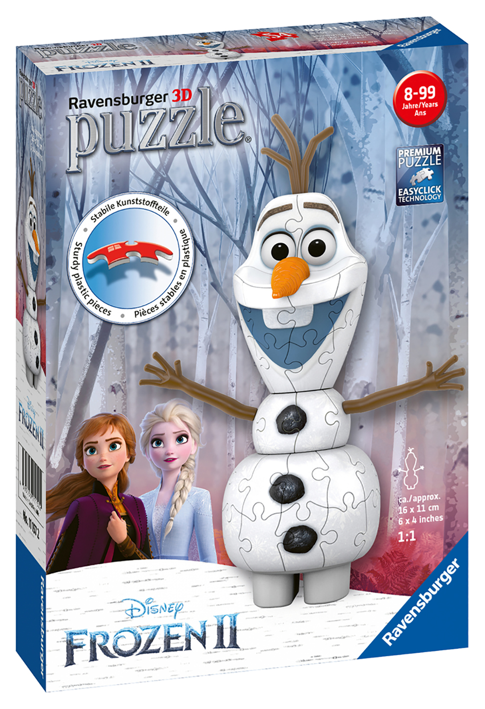 Casse-tête 3D 54 pièces - La Reine des neiges 2 Olaf