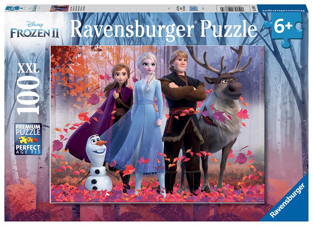 Casse-tête 100 pièces XXL - La Reine des neiges 2 - La magie de la forêt