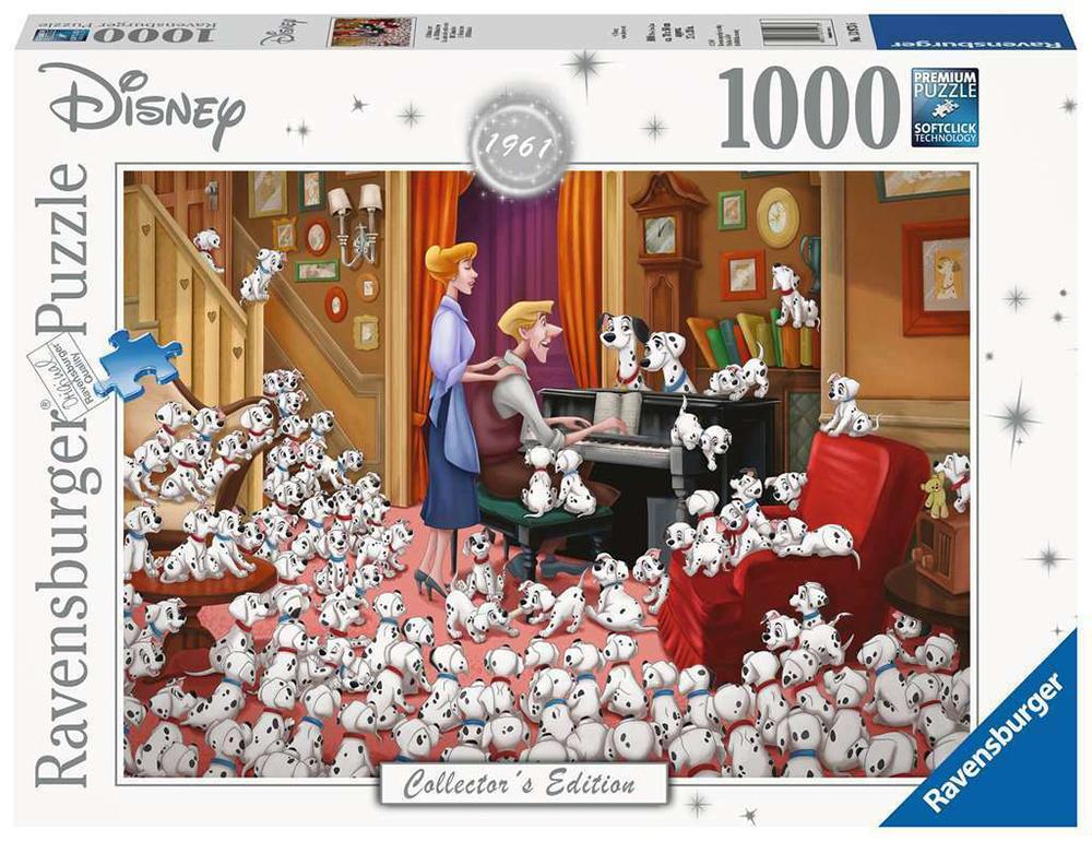 Casse-tête 1000 pièces - Disney 101 Dalmatiens