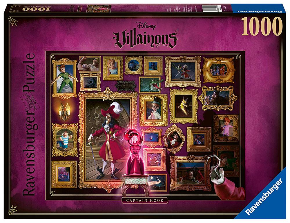 Casse-tête 1000 pièces - Disney Capitaine Crochet