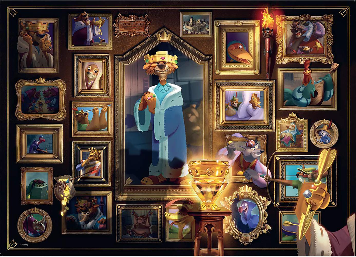 Casse-tête 1000 pièces - Disney Roi Jean