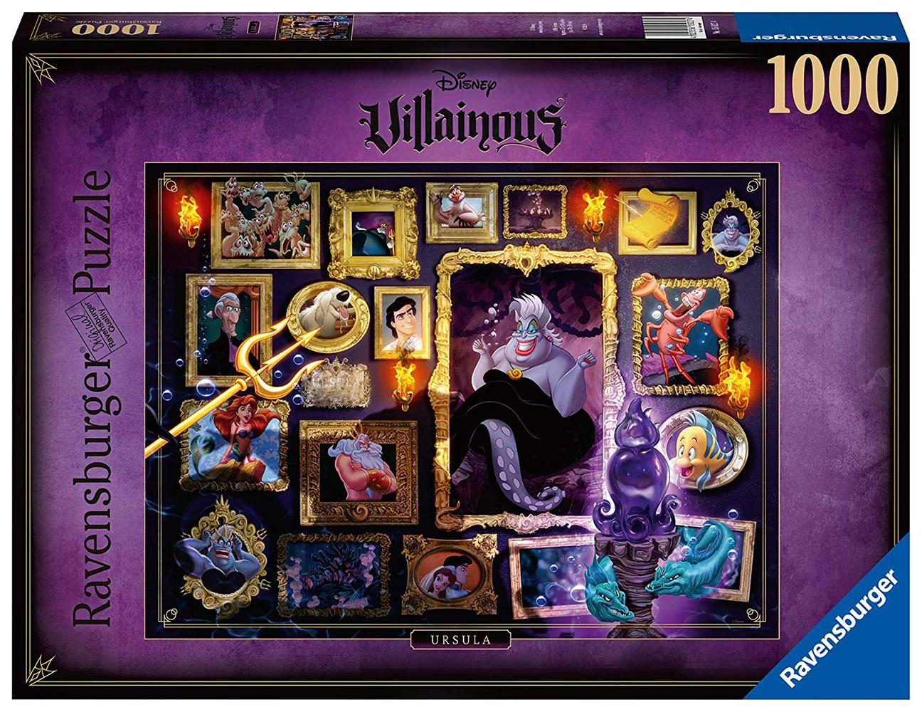Casse-tête 1000 pièces - Disney Ursula