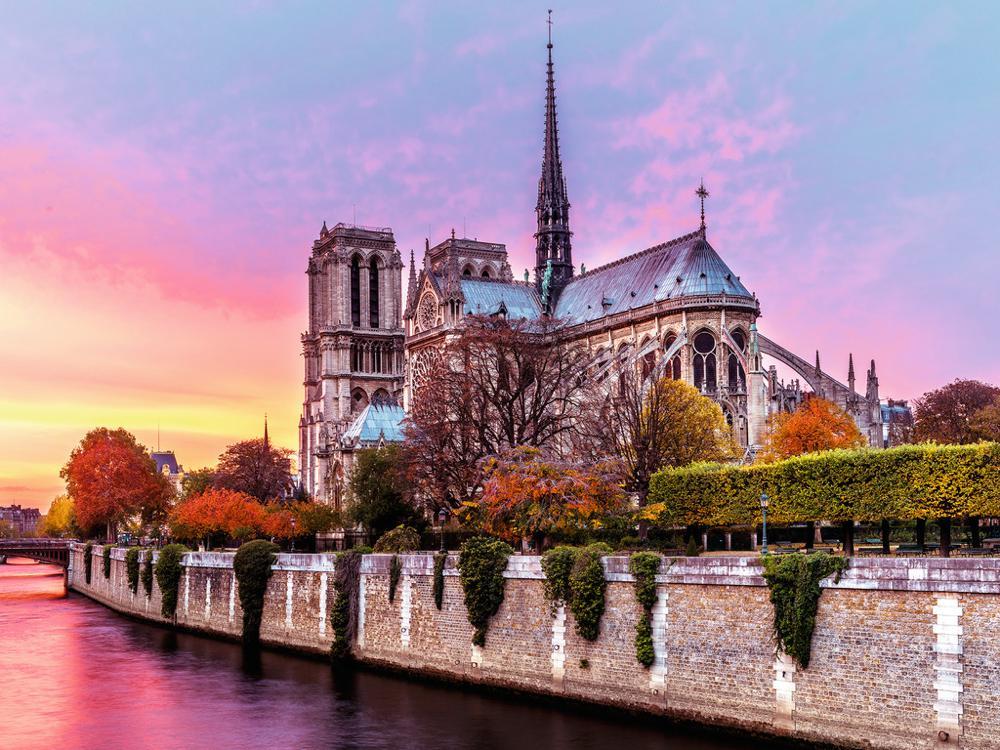 Casse-tête 1500 pièces - Pittoresque Notre-Dame de Paris
