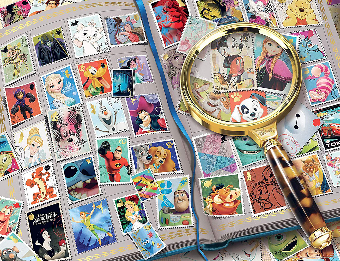 Casse-tête 2000 pcs - Timbres préférés Disney